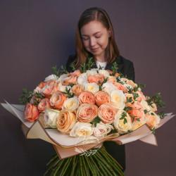 """Авторский букет 125 роз """"Сюрприз"""""""