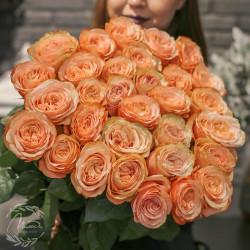 Букет 25 роз Кахала (Эквадор 40 см)