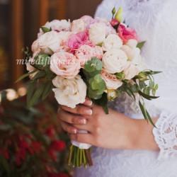 """Свадебный букет """"Кружево"""""""