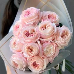 Букет из пионовидных роз Кейра (11 шт)