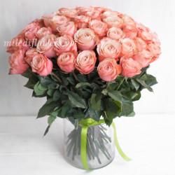 Букет 51 роза Кахала (Эквадор 50 см)